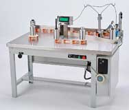 WT-25 Rewind Label Counting Inspection Table
